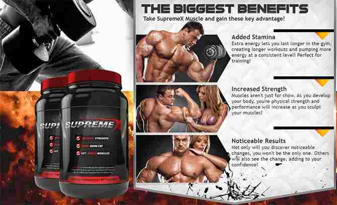 Supreme X Muscle Supplement